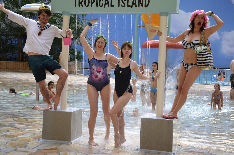 Immersion im Tropical Island