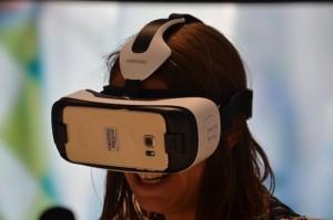 Ein Testet mit der Samsung Gear VR