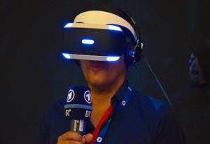 VR Brille von Sony