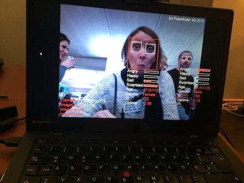 Gesichtserkennung vom Fraunhofer Institut