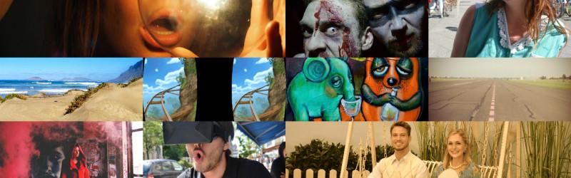 VR Test Collage
