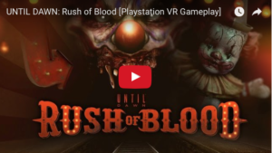 Playstation VR - Rush of Blood Game