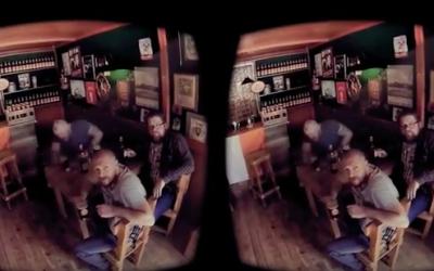 VR-Werbung Beispiel Screenshot