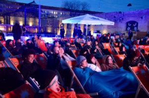 Outdoor screening Haubentaucher Amaze Award
