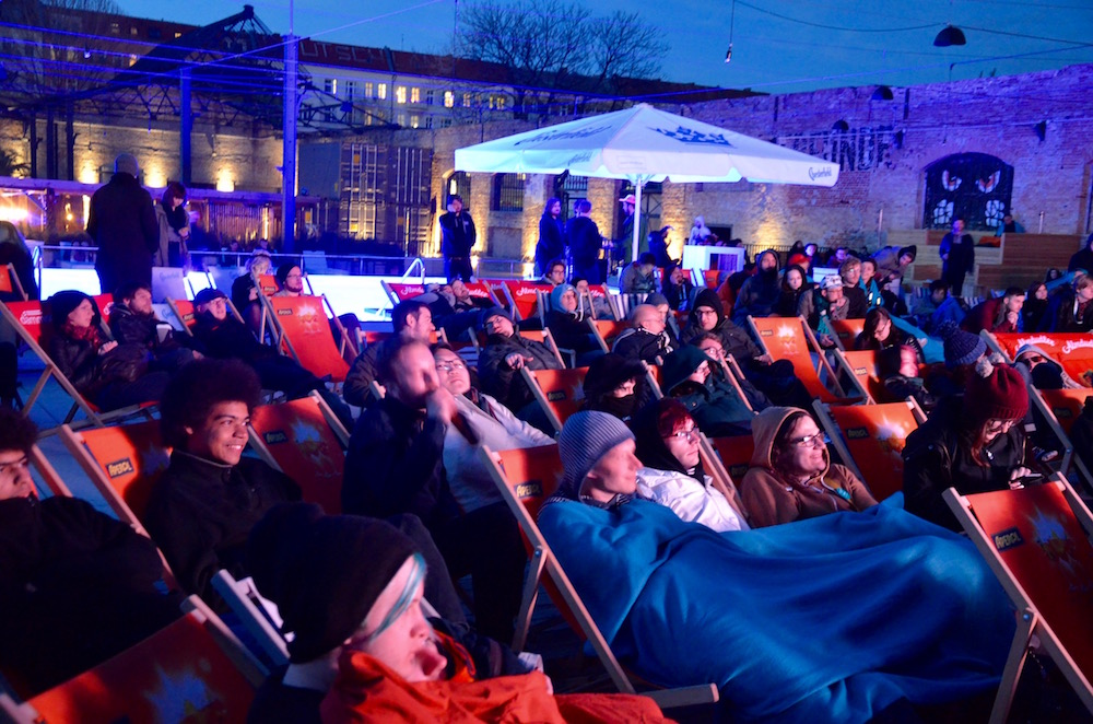 Outdoor screening Haubentaucher Amaze Award